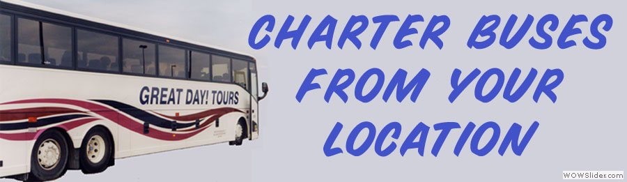 Charter a Bus, Mini-Bus, Van or Limo